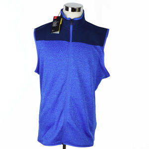 Under Armour mens fleece sweater vest in size XL